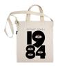 每天穿本书-反乌托邦:1984 帆布包(眼睛·斜挎款)