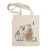 阿科家的猫:给别人闻口气的猫 帆布包(单肩款)