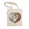 阿科家的猫:爱的碰头 帆布包(单肩款)