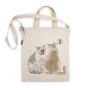 阿科家的猫:给别人闻口气的猫 帆布包(斜挎款)
