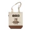 化学元素猫系列:瑜伽猫 帆布包(斜挎款)